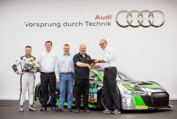 Audi livre la cinquantième Audi R8 LMS de nouvelle génération