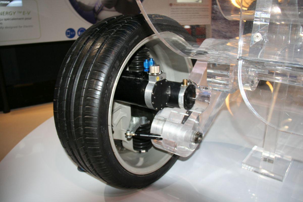 Michelin Active Wheel - Une technologie de roues motorisées prometteuse