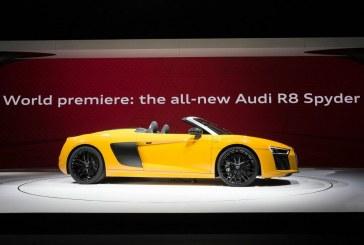 New York 2016 – Présentation officielle de l'Audi R8 Spyder