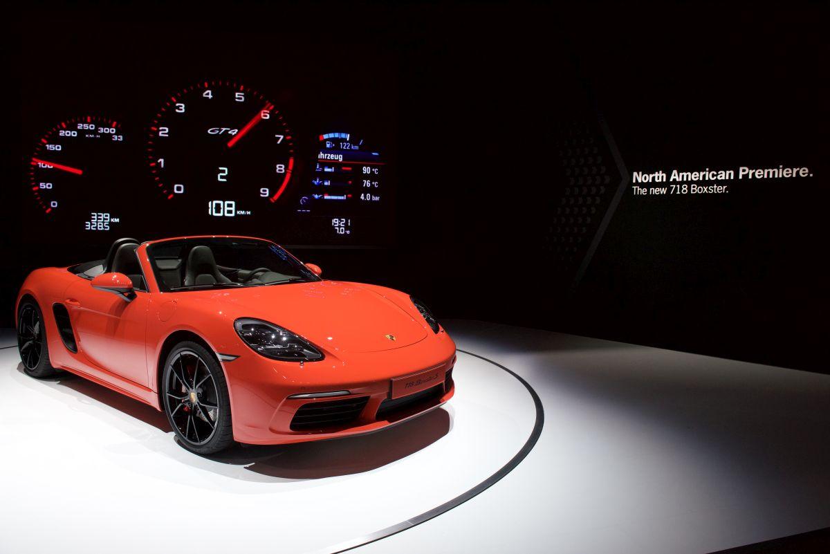 New York 2016 - Trois Nouveautés Porsche présentées aux États-Unis