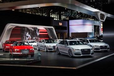 New York 2016 – Un stand Audi bien garni