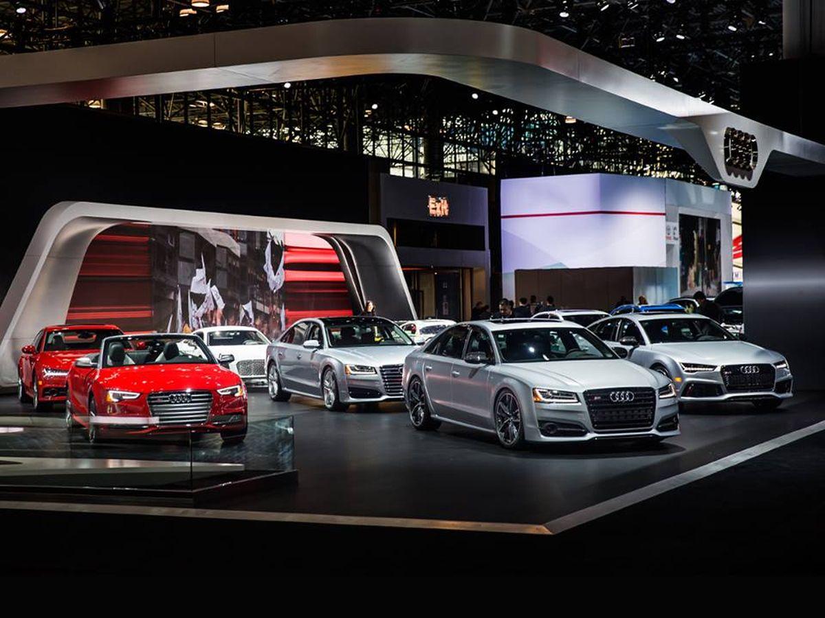 New York 2016 - Un stand Audi bien garni