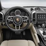 Un nouveau système d'info-divertissement offrant plus de connectivité sur le Porsche Cayenne 2016