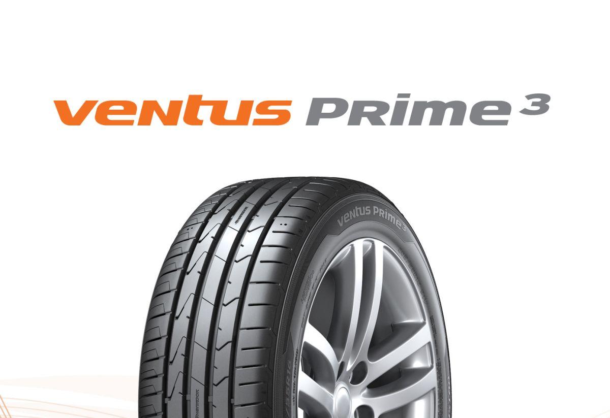 Hankook Ventus Prime³ - Un nouveau pneu confort haut de gamme