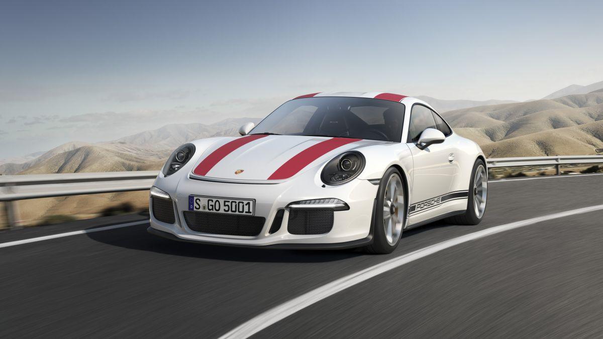 Porsche 911 R - Limitée à 991 exemplaires et ultra allégée