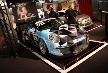 Genève 2016 – Porsche 911 Supercup de Patrick Dempsey sur le stand Tag Heuer