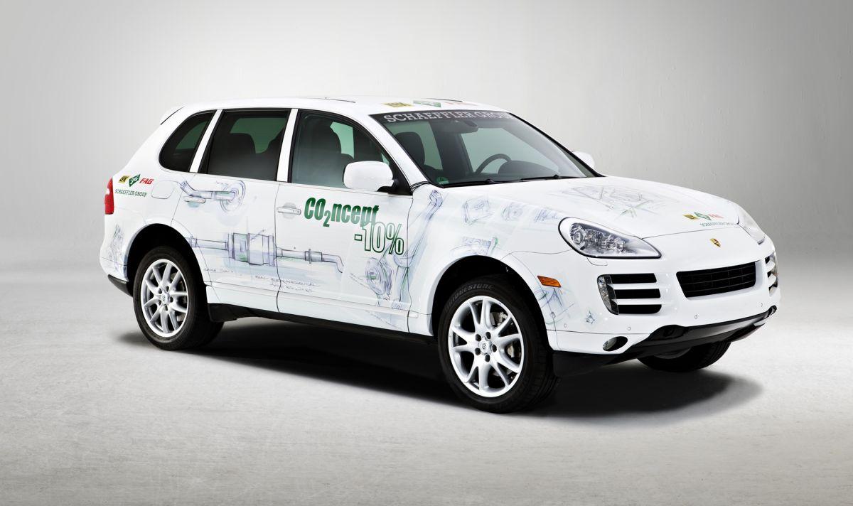 Porsche Cayenne CO2ncept-10% de 2009 by Schaeffler