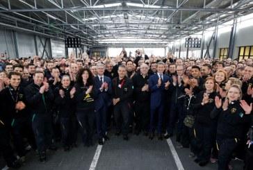 Winkelmann et Domenicali ont rencontré les employés de Lamborghini avec la présence des membres du conseil d'administration d'Audi