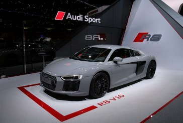 Genève 2016 – Audi R8 V10 et Audi R8 V10 Plus