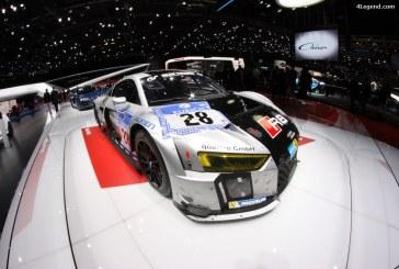 Genève 2016 – Audi R8 LMS des 24h du Nürburgring