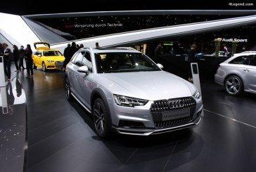 Genève 2016 – Audi A4 allroad quattro