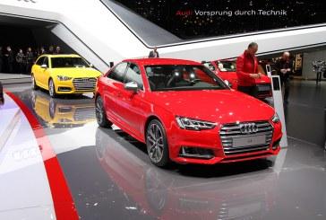 Genève 2016 – Audi S4 et Audi S4 Avant B9