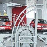 Exposition «Variations en rouge» à l'Audi museum mobile