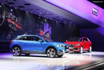 Genève 2016 – évolutions du stand Audi