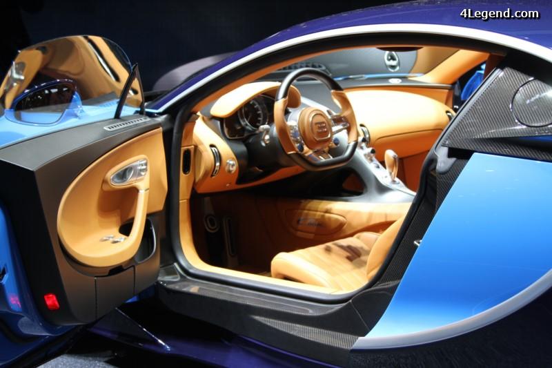 Gen ve 2016 bugatti chiron for Interieur bugatti chiron