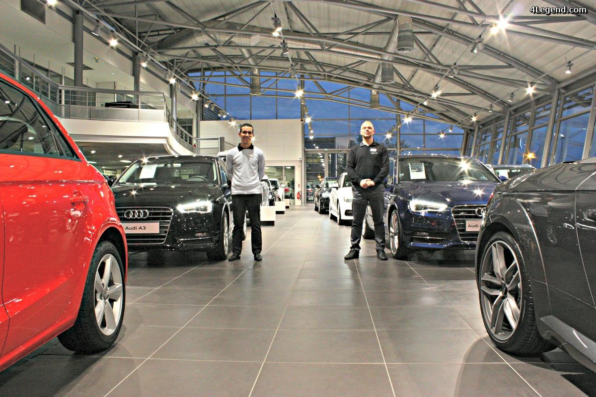 Les conseillers experts produit Audi