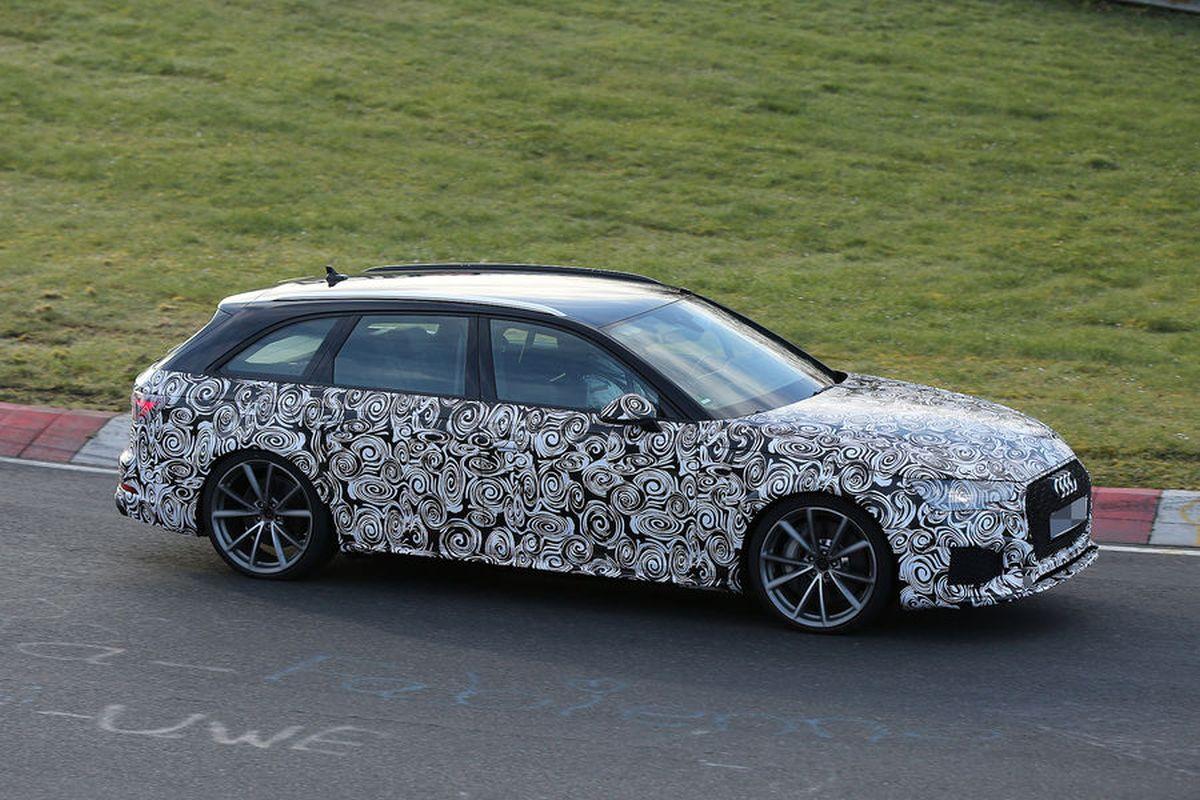Spyshots Audi RS 4 Avant B9 - 500 ch sous le capot