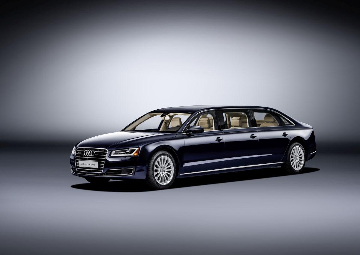 Audi A8 L extended - Une limousine XXL unique à 6 portes et 6 places