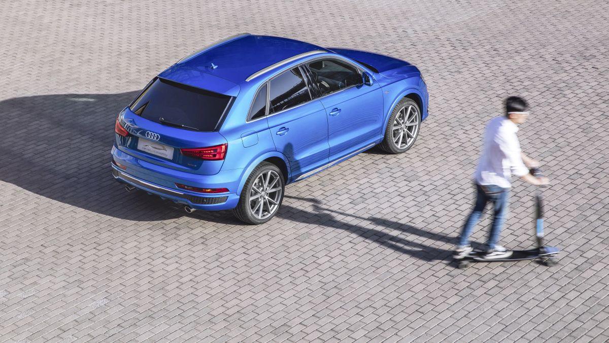 Audi connected mobility concept - Une Audi Q3 spécifique pour le Salon de l'Automobile de Pékin 2016