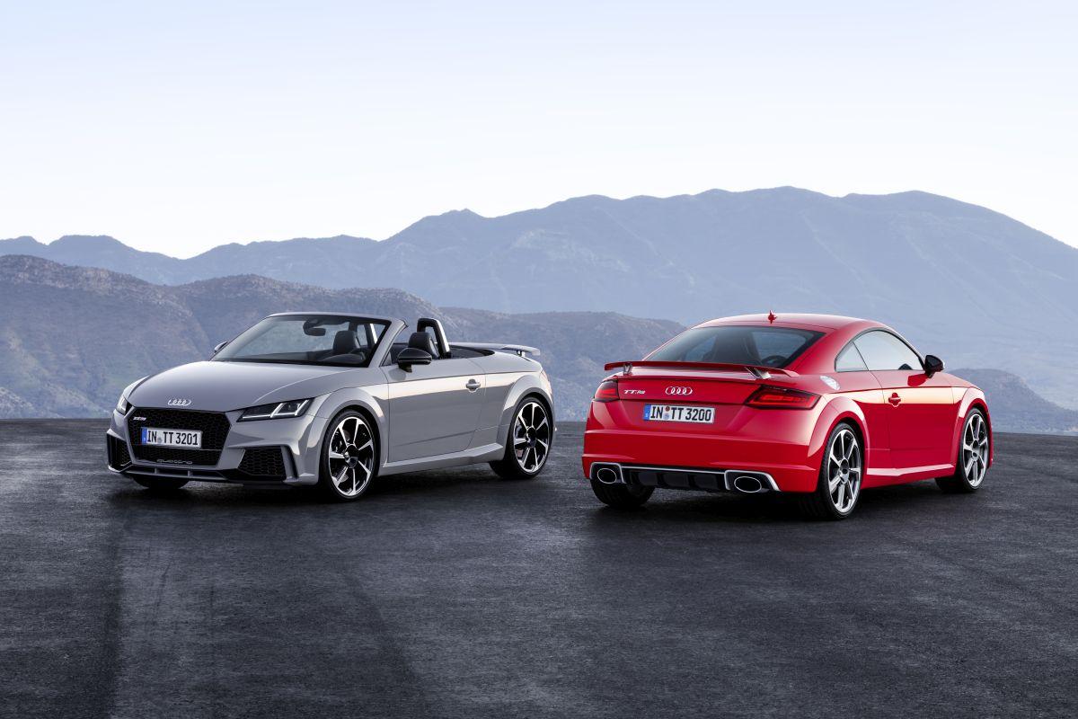 Nouvelles Audi TT RS Coupé et Audi TT RS Roadster - Plus puissantes que jamais