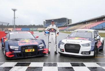 Un double départ en 2016 pour le pilote Audi Mattias Ekström – DTM et World RX