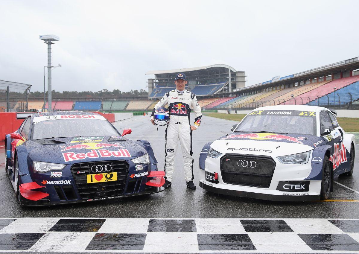 Un double départ en 2016 pour le pilote Audi Mattias Ekström - DTM et World RX