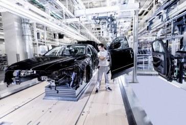 De nouveaux halls de production de la nouvelle Audi A8 sur le site de Neckarsulm