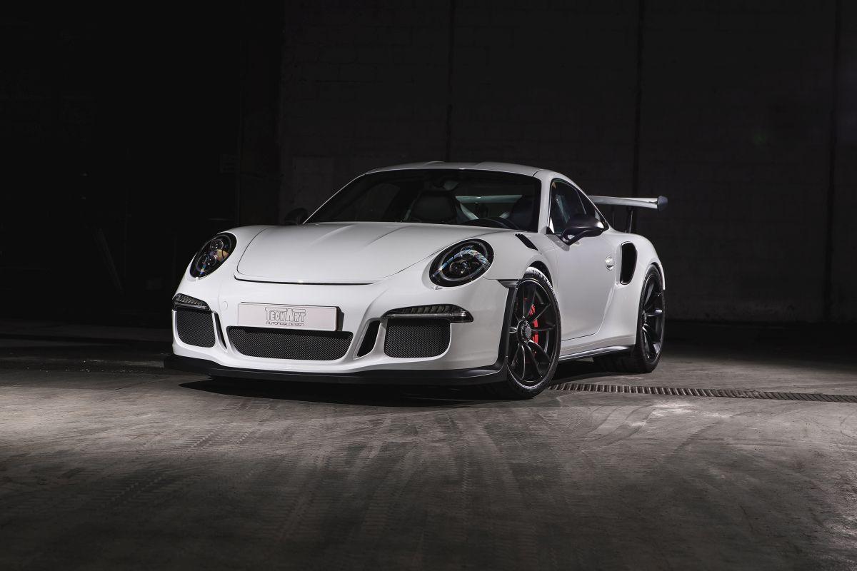TECHART Carbon Sport Package - Des pièces en carbone pour la Porsche 911 GT3 RS