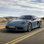 Porsche 718 Cayman – Première mondiale à Pékin du coupé sport à moteur central