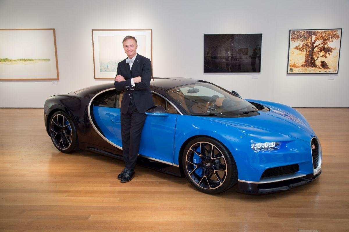 Présentation de la Bugatti Chiron aux États-Unis