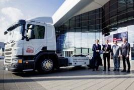 Audi, Scania et Ihro s'associent dans un projet pilote de camion au gaz naturel pour l'usine Audi