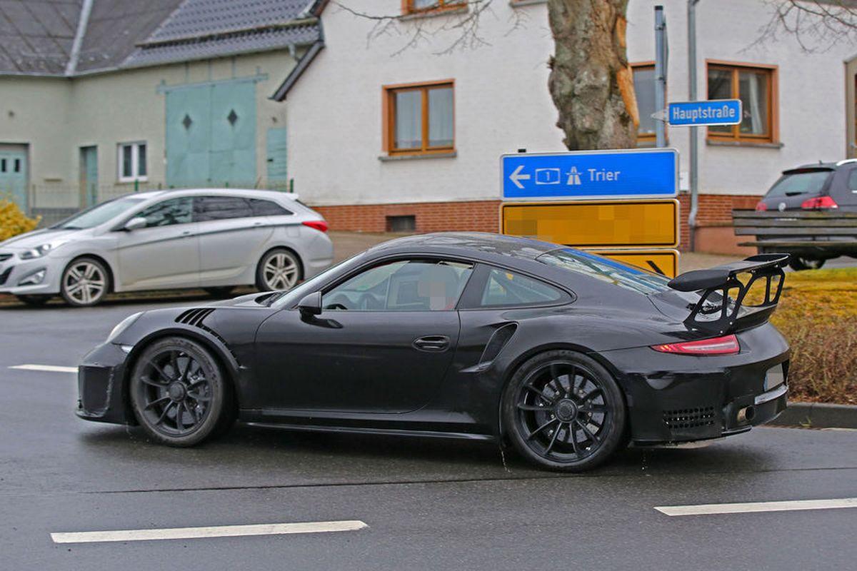Spyshots Porsche 911 GT3 RS 4.2 - La 911 la plus bestiale avec 525 ch