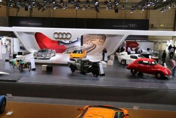 Techno Classica 2016 – Stand Audi Tradition mettant à l'honneur des raretés