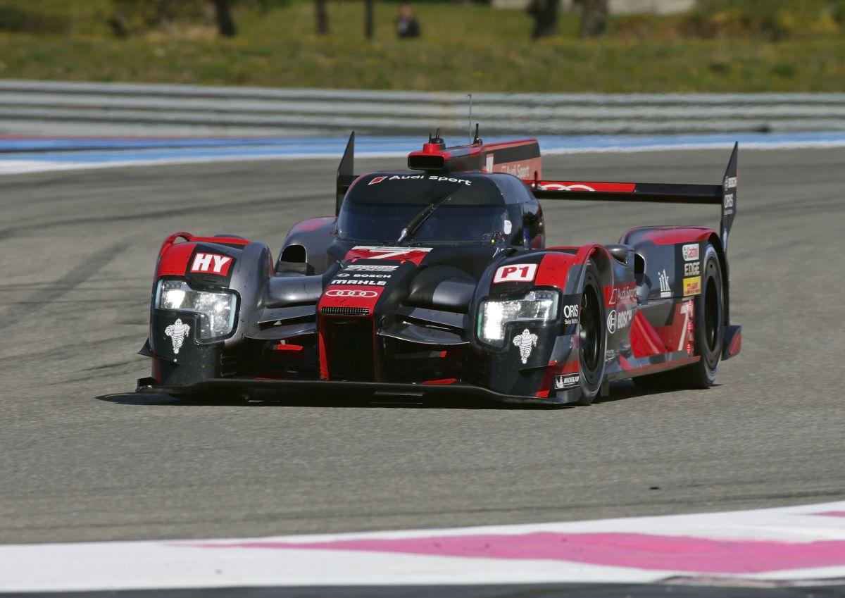 WEC - Audi a testé ses Audi R18 e-tron quattro au prologue au Castellet