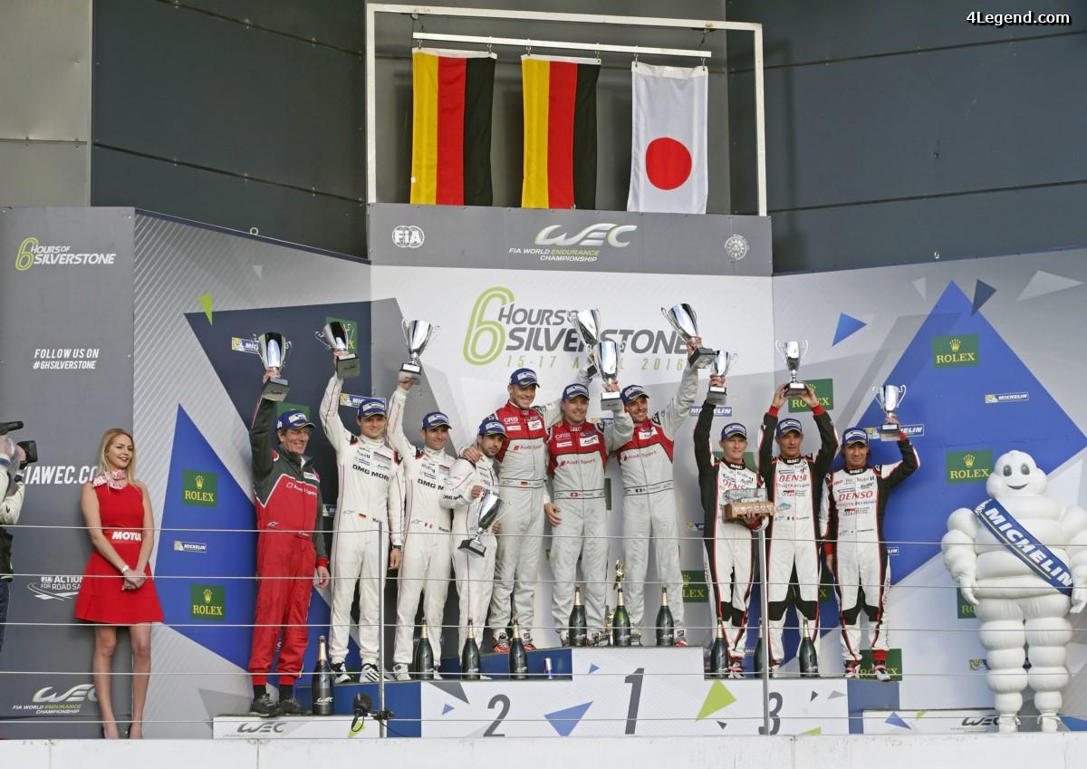 WEC - Audi remporte les 6 Heures de Silverstone