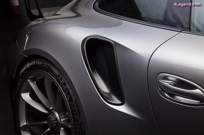 techart carbon sport package des pi ces en carbone pour la porsche 911 gt3 rs. Black Bedroom Furniture Sets. Home Design Ideas