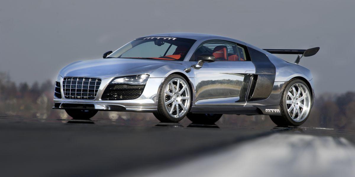 MTM vend sa MTM (Audi) R8 V10 Biturbo GT - en aluminium poli de 802 ch - 500 000 euros