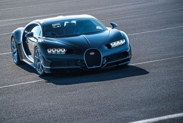 La nouvelle Bugatti Chiron arrive pour la première fois en Autriche à l'occasion du 37e Vienna Motor Symposium