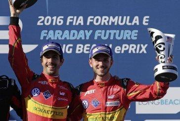 Formula E à Long Beach (USA) : victoire pour Lucas di Grassi et podium pour Daniel Abt