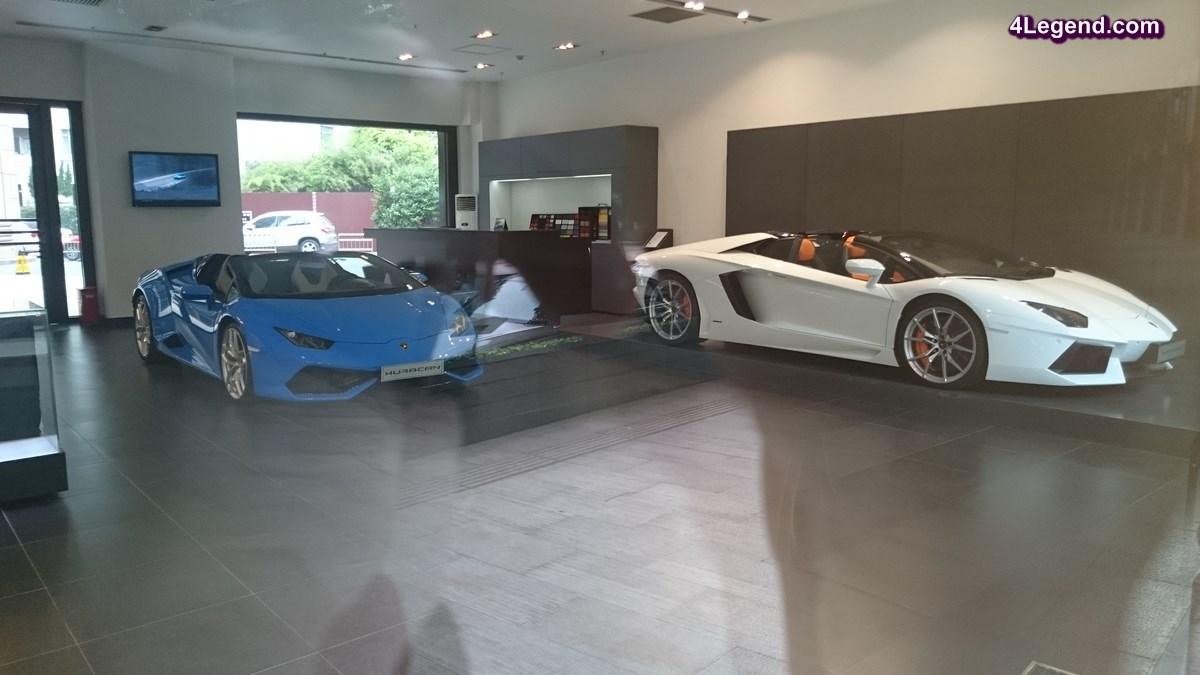 Lamborghini Shanghai Central - Une concession Lamborghini en Chine