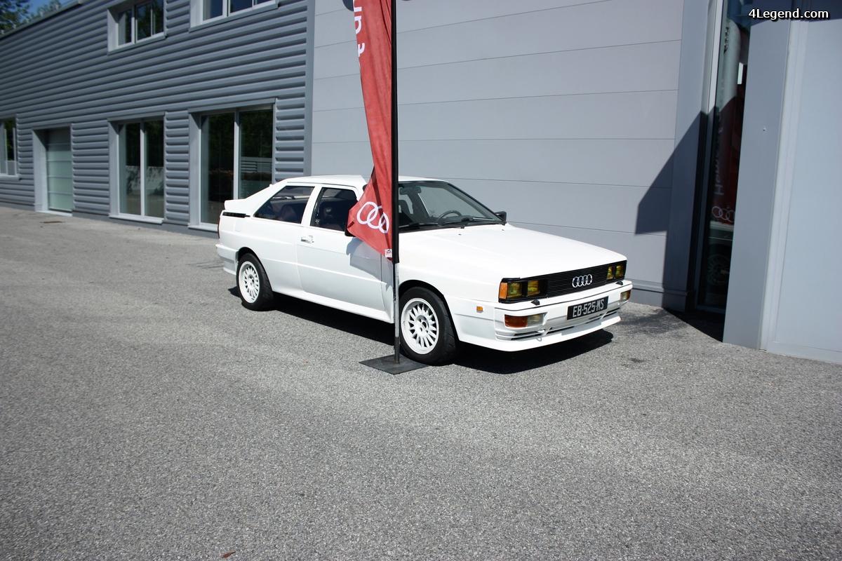 Restauration Audi Ur quattro de 1981