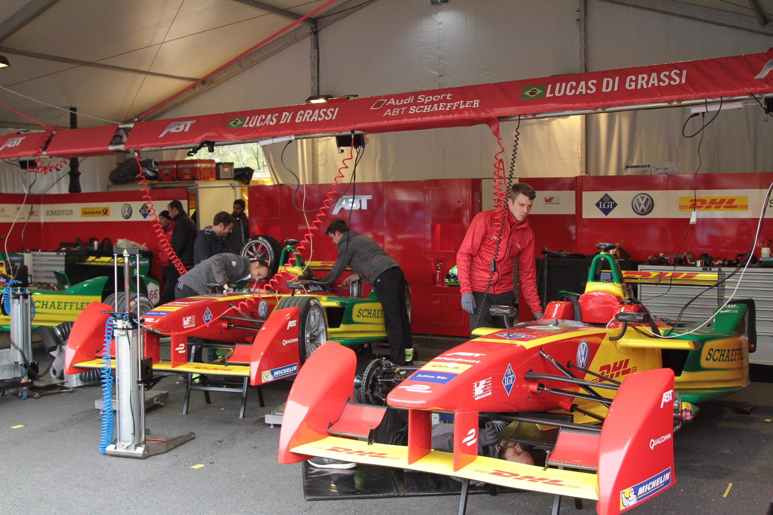 Grand Prix de Formula E à Paris avec Michelin
