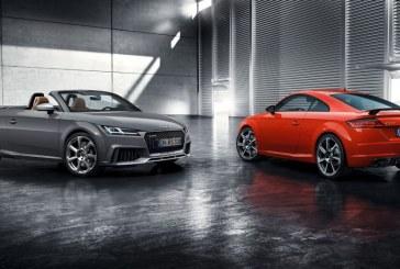Audi TT RS Coupé et Audi TT RS Roadster – Pour un plaisir de conduite inégalé