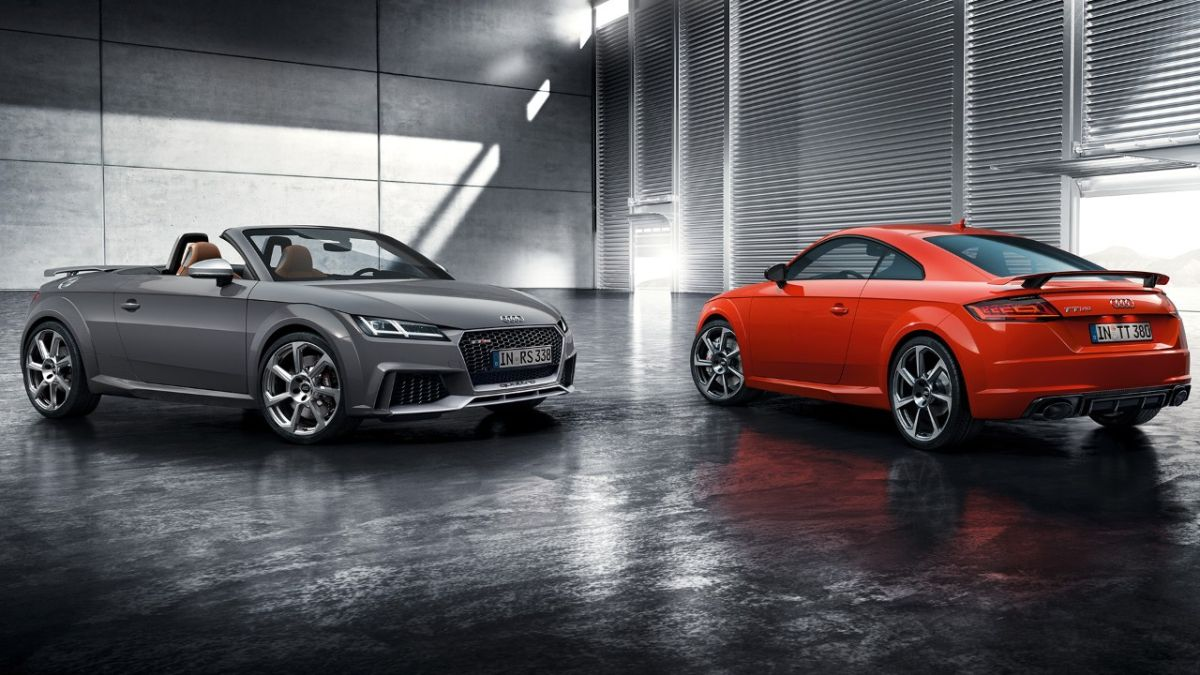 audi tt rs coup et audi tt rs roadster pour un plaisir de conduite in gal. Black Bedroom Furniture Sets. Home Design Ideas