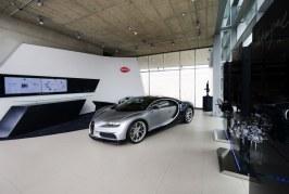 Bugatti ouvre un showroom aux nouvelles couleurs de la marque à Düsseldorf