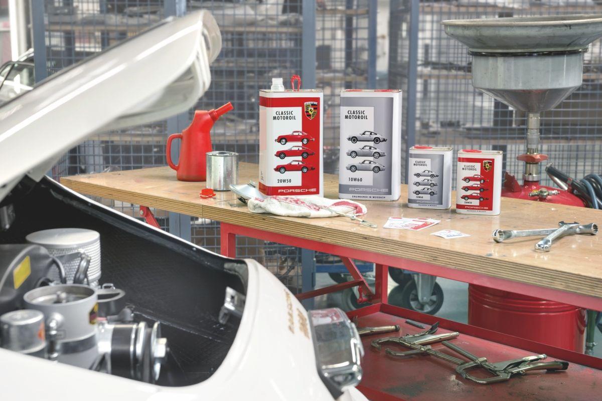 Porsche Classic Motoroil pour les moteurs refroidis par air - Un best-seller