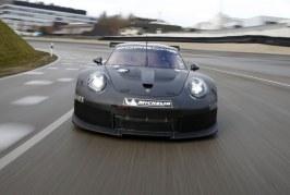 Une nouvelle Porsche GTE / GTLM dès 2017 – La remplaçante de la 911 RSR entame ses essais