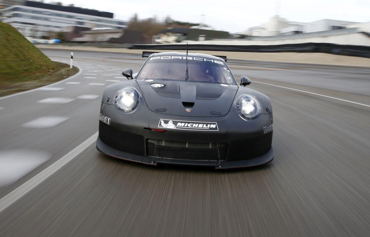 Une nouvelle Porsche GTE / GTLM dès 2017 - La remplaçante de la 911 RSR entame ses essais