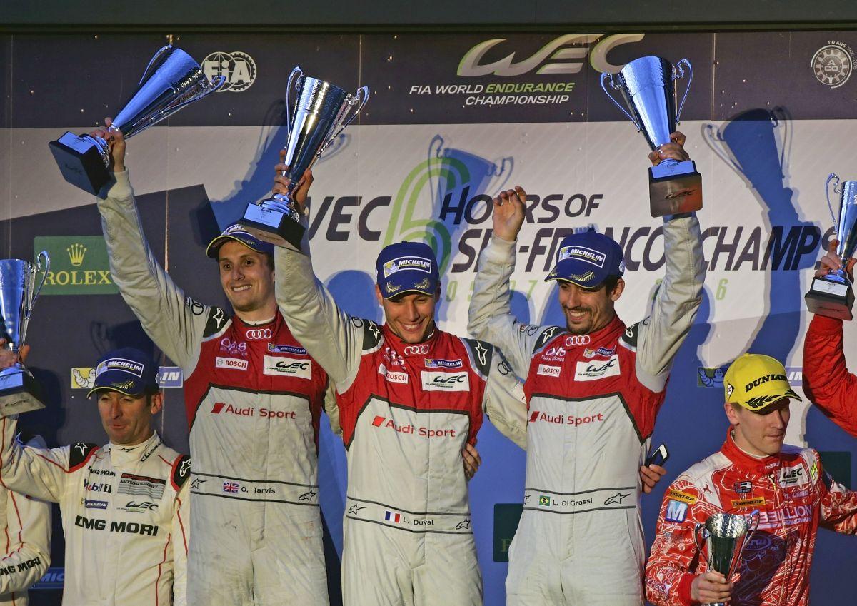 Audi célèbre à Spa la première victoire en WEC de la saison