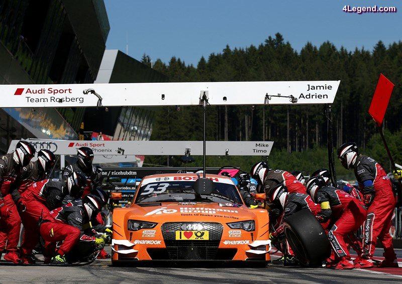 Hoffmann Group Audi RS 5 DTM #53 (Audi Sport Team Rosberg), Jamie Green